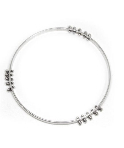 Double Edge Wire Granules Bangle
