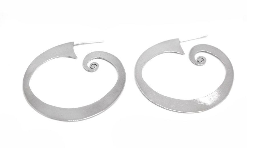 Flat Spiral Hoops