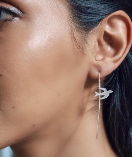 Bird Flight Earrings