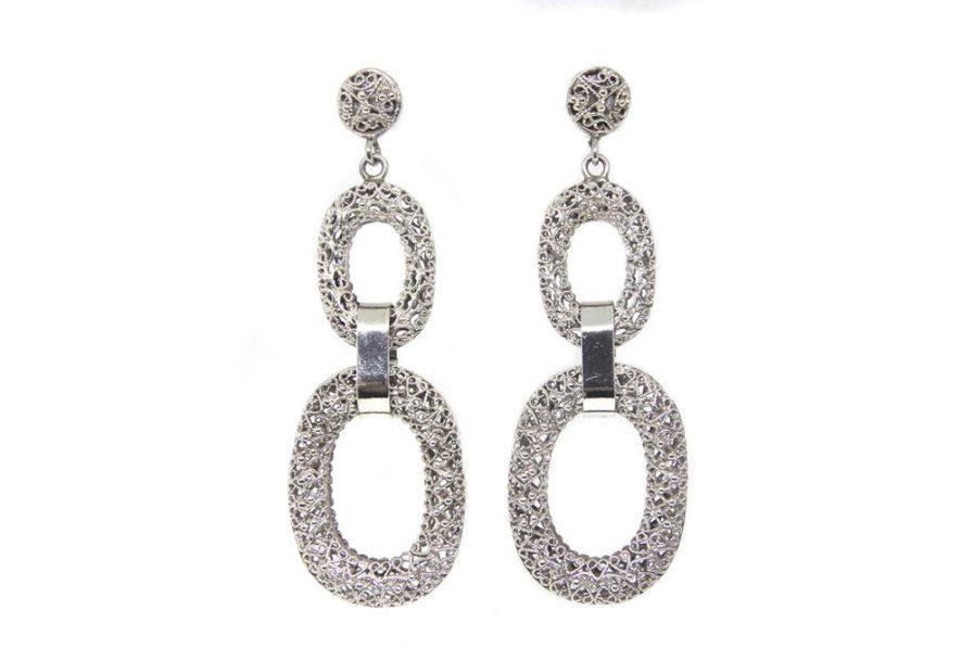 Filigree Chain Links Earrings