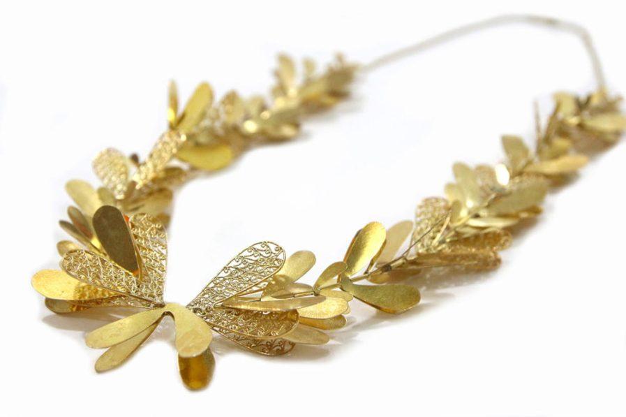 Gold Petals Necklace