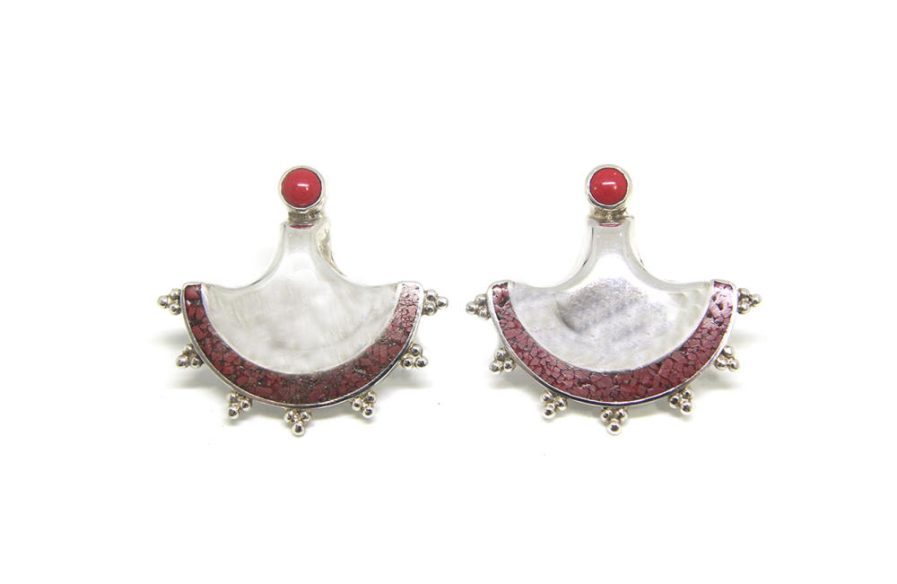 Lahore Coral Earrings