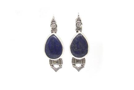 Lahore Lapis Earrings