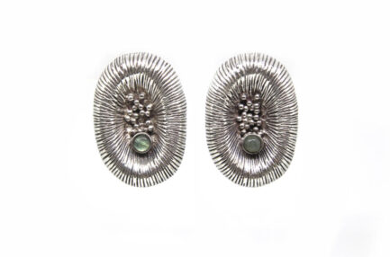 Organic Earrings With Stone