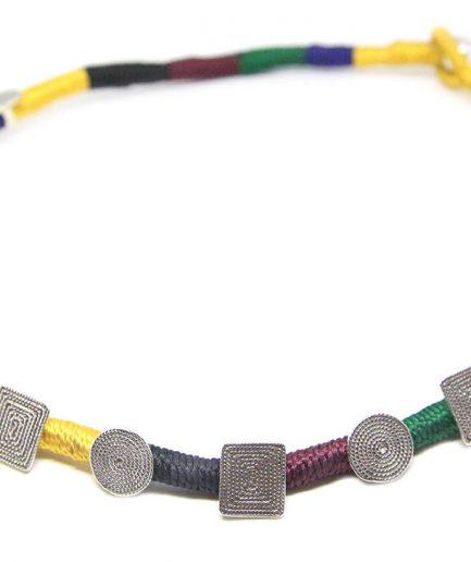Spirals In Coloured String
