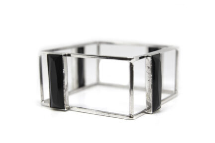 Square Swarovski Bangle
