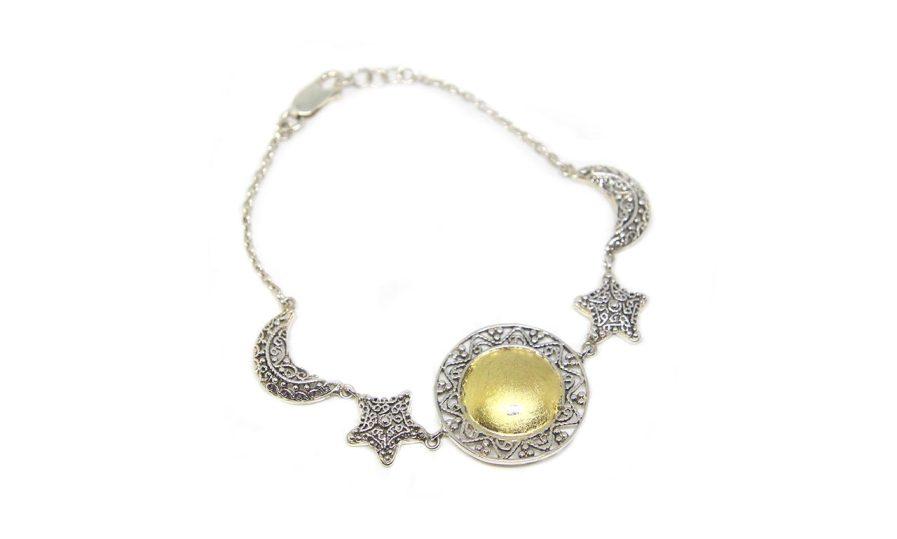 Sun Moon and Star Bracelet