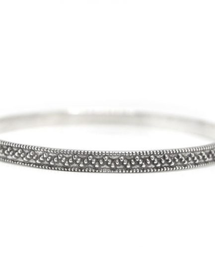 Triangle Stamped Bangle