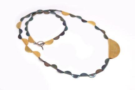 Folded Circles Necklace