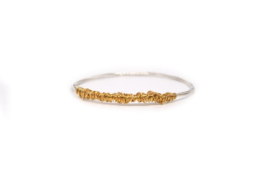 Gold Plated Wrapped Wire