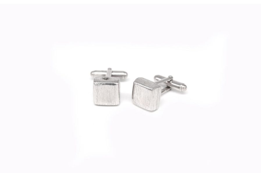 Textured Box Cufflinks