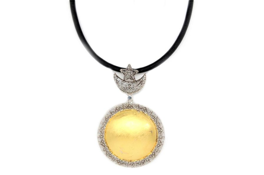 Sun Moon and Star Necklace