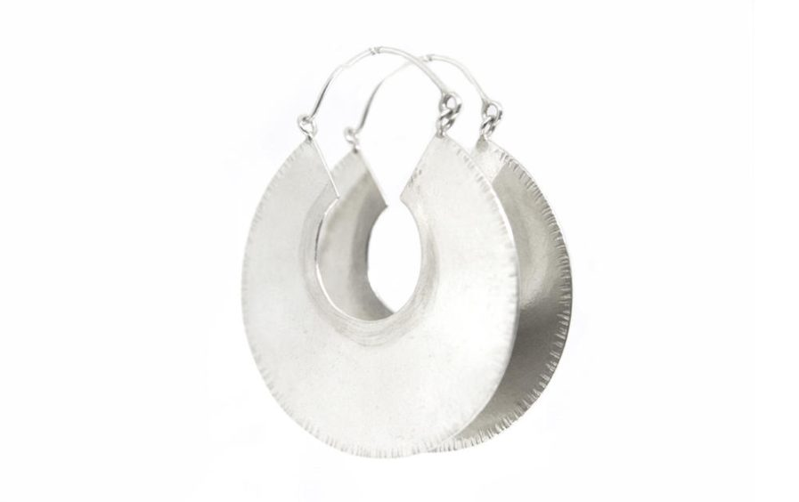 Textured Edge hoops