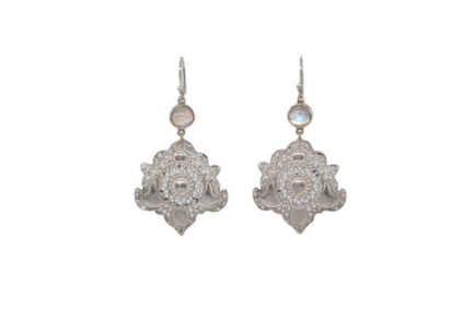Filigree Damask With Moonstone