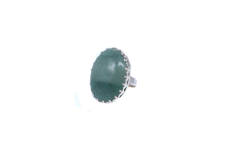 Amazonite In Prong Setting