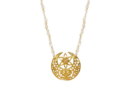 Chand Sitara Necklace Gold Plated