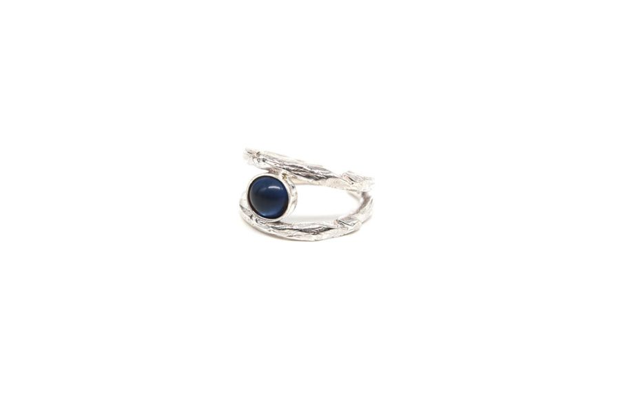 Ring With Blue Tourmaline