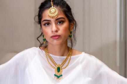 Yasmeen Tikka Gold Plated