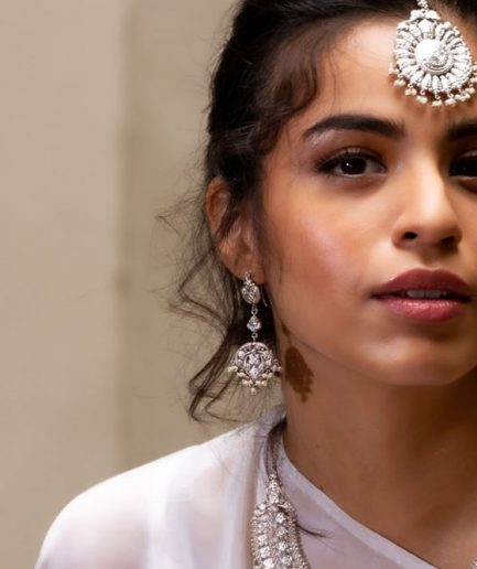 Yasmeen With Hanging Pearls